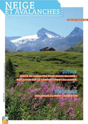 Neige et Avalanches N° 146