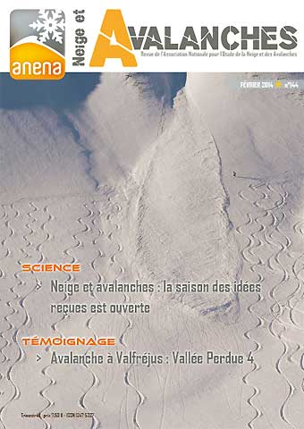 Neige et Avalanches N° 144