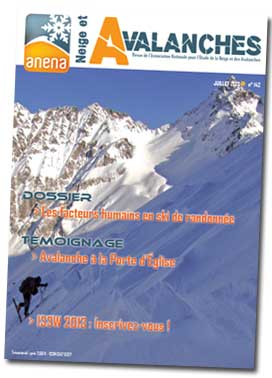 Neige et Avalanches N° 142