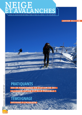 Neige et Avalanches N°148